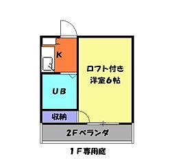 梅坪駅 2.3万円