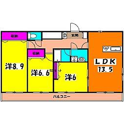宇都宮駅 9.5万円