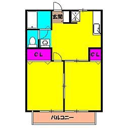 雀宮駅 4.6万円