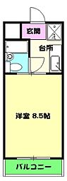 鷲津駅 2.5万円