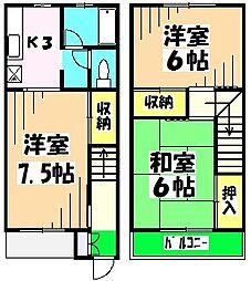 新京成電鉄 鎌ヶ谷大仏駅 バス5分 富士栄下車 徒歩23分