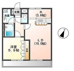 西武狭山線 下山口駅 徒歩10分の賃貸アパート