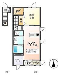 金子駅 6.6万円