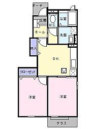 武川駅 4.3万円