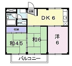鴨宮駅 4.6万円