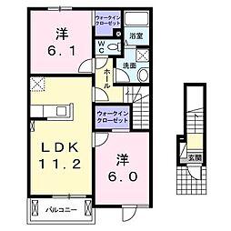 雀宮駅 5.6万円