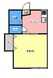 鶴巻温泉駅 1.9万円