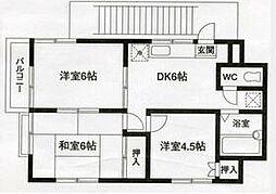 狭山ヶ丘駅 5.5万円