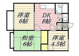 西八王子駅 4.6万円