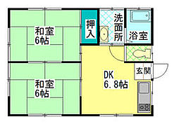 求名駅 3.8万円