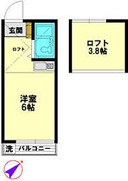 ひばりヶ丘駅 3.4万円