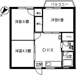つつじヶ丘駅 7.5万円