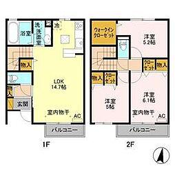 群馬総社駅 8.4万円