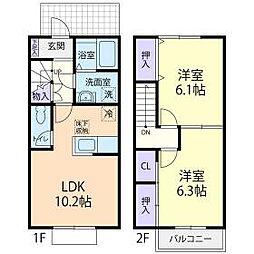 笠間駅 5.9万円