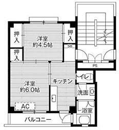 御花畑駅 3.3万円