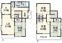 越生駅 5.0万円