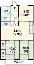 佐古木駅 4.5万円
