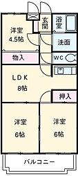 川越富洲原駅 5.4万円