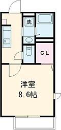 雀宮駅 4.5万円