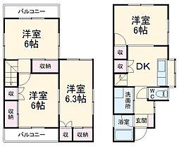 南桜井駅 5.5万円