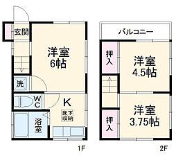 原木中山駅 5.3万円