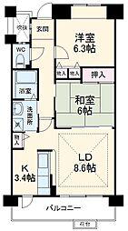 星ヶ丘駅 8.7万円