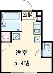 【敷金礼金0円!】バーミープレイス国立II