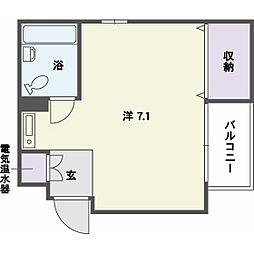 唐人町駅 3.3万円