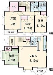 尾山台駅 21.0万円