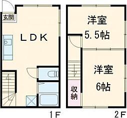 白山駅 12.9万円