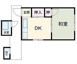 茶屋ヶ坂駅 2.0万円
