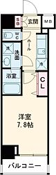 都営三田線 西台駅 徒歩11分の賃貸マンション 6階1DKの間取り