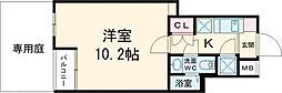 都営三田線 西高島平駅 徒歩14分の賃貸マンション 地下1階1Kの間取り