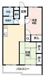 北上尾駅 4.6万円