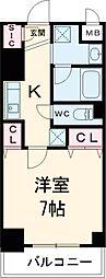 クレストコート志村坂上 10階2LDKの間取り