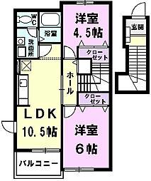 【敷金礼金0円!】メゾンプリモデイ−ネII