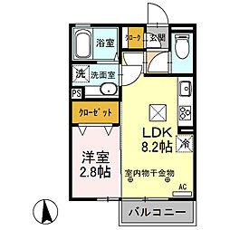 群馬総社駅 5.3万円