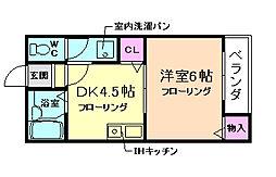 エルドラード箕面II[2階]の間取り