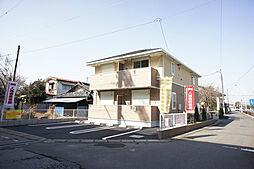 栃木県小山市粟宮2丁目の賃貸アパートの外観