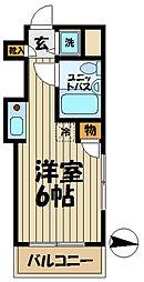 TOP大船NO1[3階]の間取り