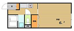 ルナハウス[2階]の間取り