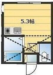 アーヴェル浅間台[2階]の間取り