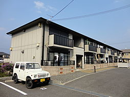滋賀県彦根市城町2丁目の賃貸アパートの外観
