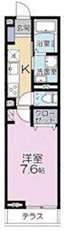 (仮称)大宮区吉敷町3丁目project 1階1Kの間取り