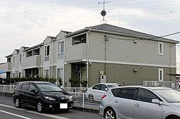 愛知県岡崎市柱町字下川田の賃貸アパートの外観