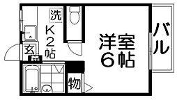 ハイツ蔵[2階]の間取り
