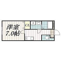 サン・コート本郷[1階]の間取り