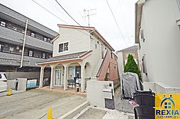千葉県千葉市花見川区花園2丁目の賃貸アパートの外観