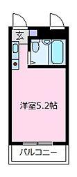 メゾン高鷲[2階]の間取り