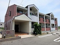 愛知県岡崎市野畑町字郷東の賃貸アパートの外観